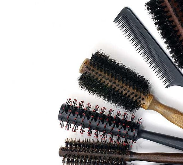 types of hair brushes and combs