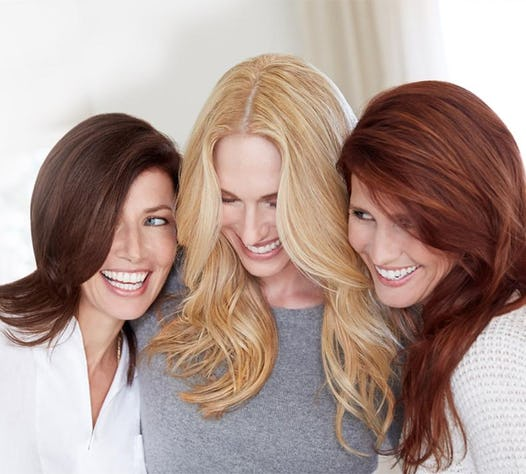 Reasons To Choose The Right Hair Color In Your S - Hair colour look younger