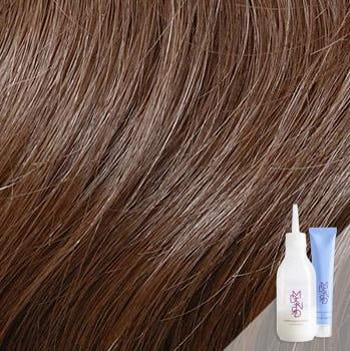 Veneto Light Brown - Cool light brown hair color with smoky undertones