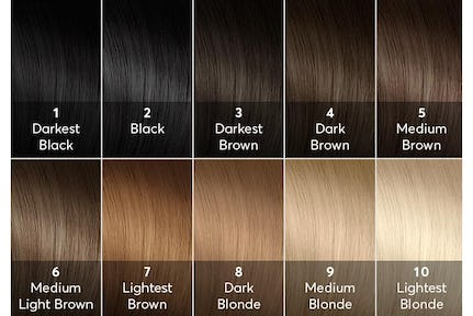 Hair Color Chart Brown Best For Green Eyes