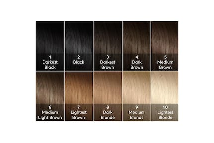 dark brown hair dye chart: A hair color chart to get glamorous results at home madison reed
