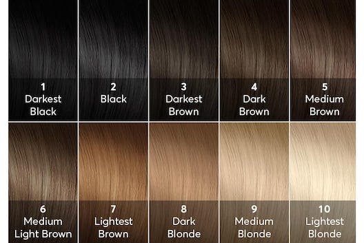 Chart Arthroscape Members On This Hair Color Scale