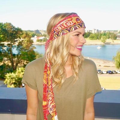bandana head scarf