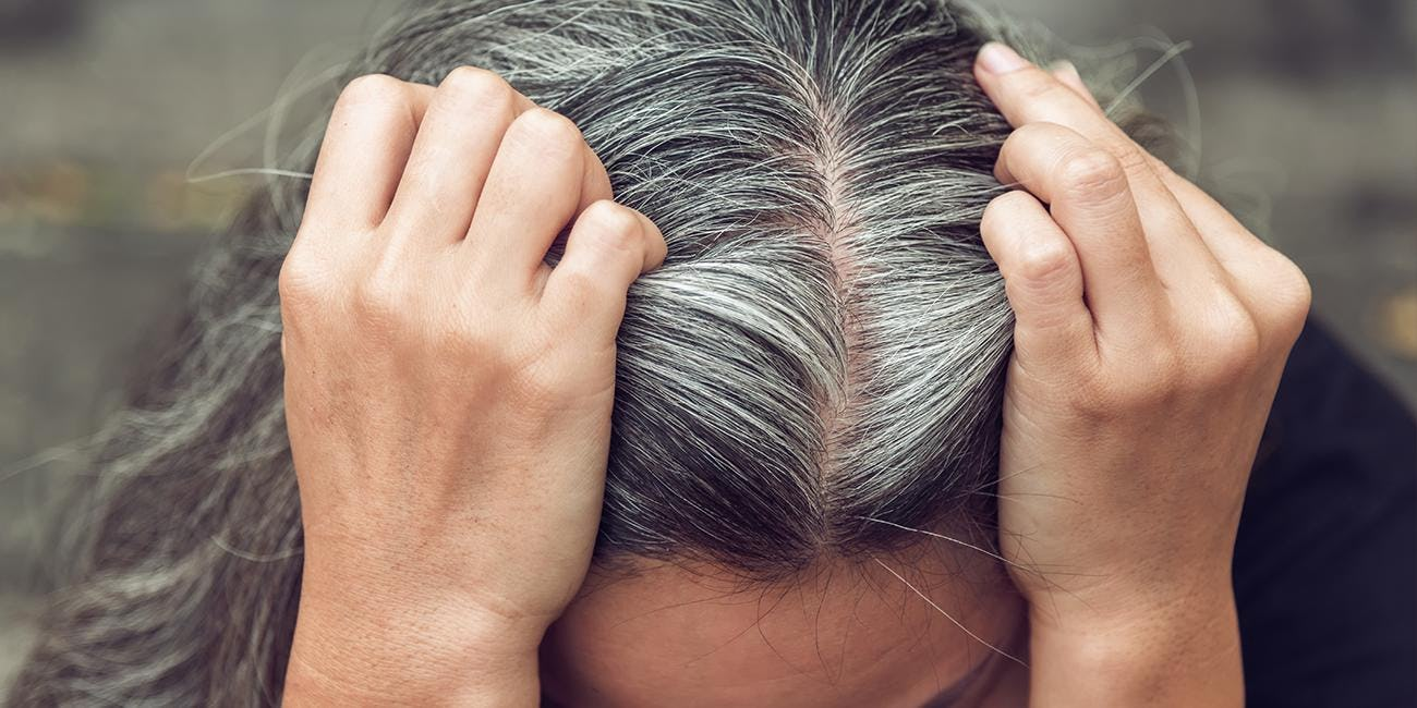 How to tell if you have stubborn gray hair
