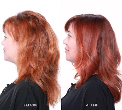 Hair Recipe: Salted Caramel Mocha