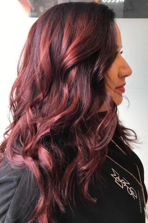 Red Hair Glaze On Dark Brown Love This Color John Frieda 4r By Clbowen Pinterest And