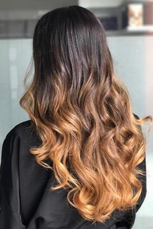 crema and miele hair glossing
