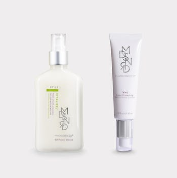 style tame set lotion cosmetics