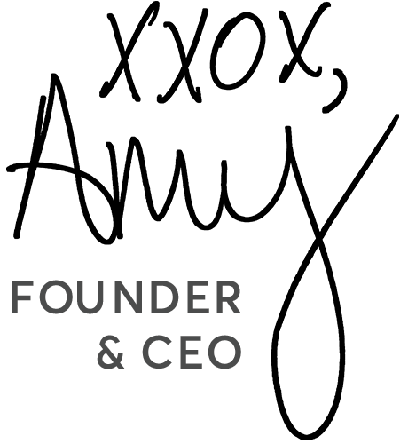 Amy, founder & CEO