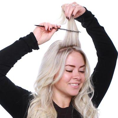 tease the hair