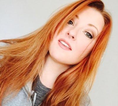 light color redhead