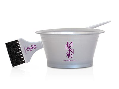 Hair Coloring Tools: Bowl and Brush