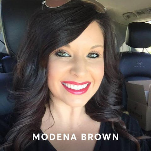 Modena Brown hair color