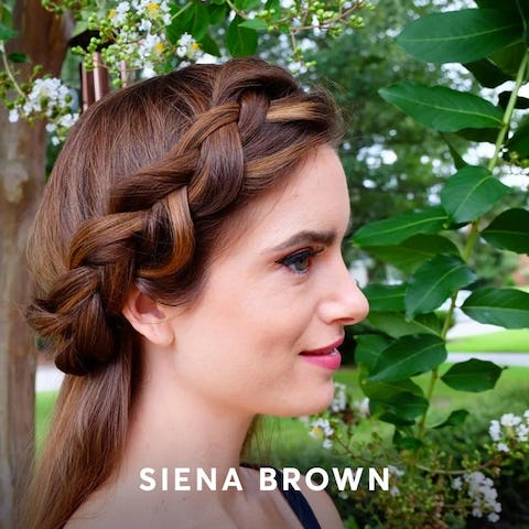 Siena Brown hair color