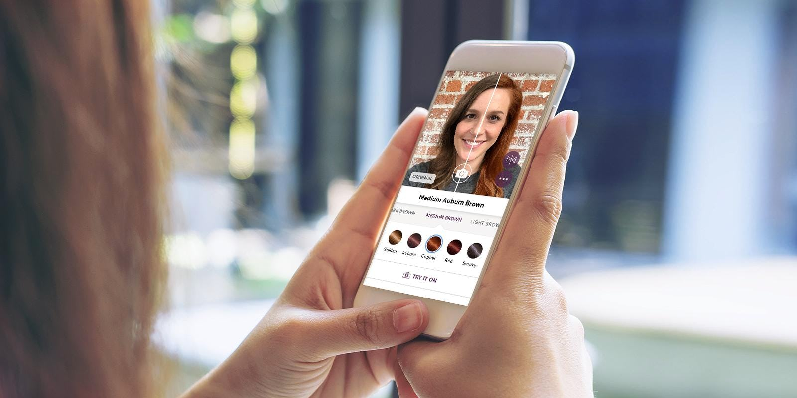 Madison Reed's Hair Color Changer App