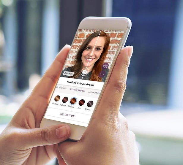 Use Vr To See Your New Hair Color A New App From Madison Reed