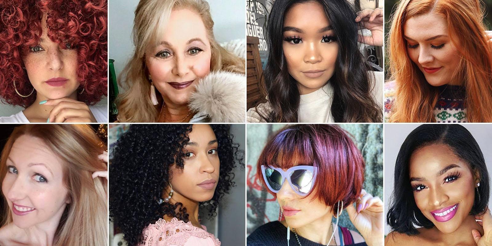 2018 hair color photos