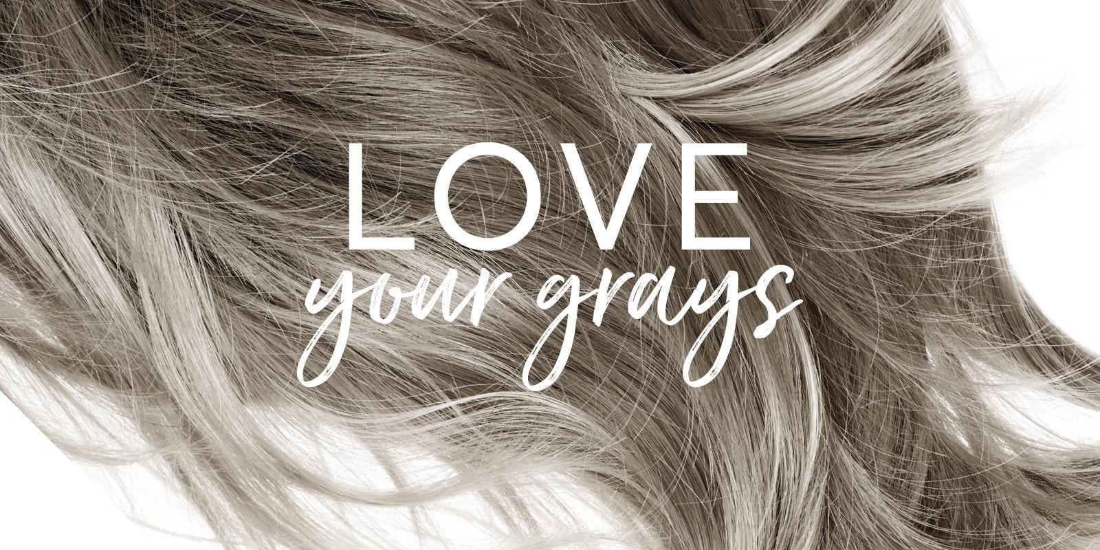 gray hair care
