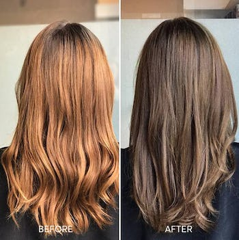 Veneto Light Brown - Cool light brown hair color with smoky undertones