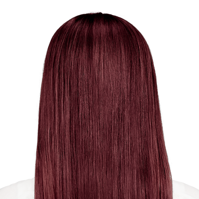 Trieste Red - Deep reddish mahogany brown hair color
