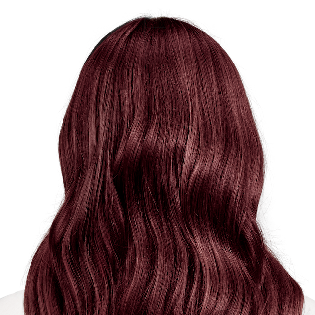 Trieste Red Deep Reddish Mahogany Brown Hair Color