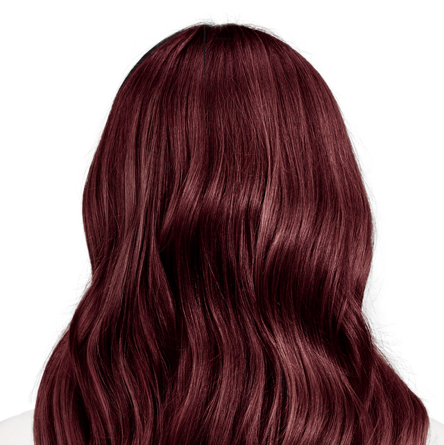 Trieste Red Deep Reddish Mahogany Brown Hair Color
