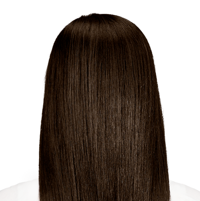 Messina Brown - Dark cool brown hair color with a blend of cool ash