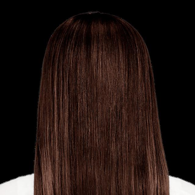 Milano Brown - Deep brown hair color with warm auburn undertones