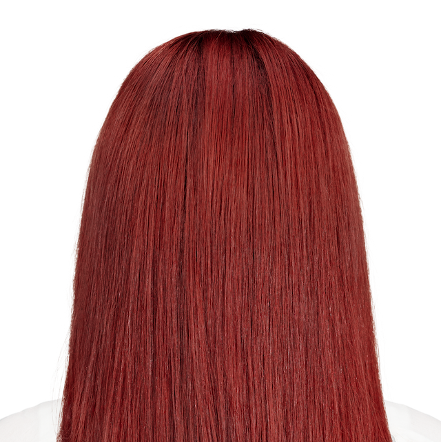 Savona Scarlet - 6RR. Rich auburn with red tones.