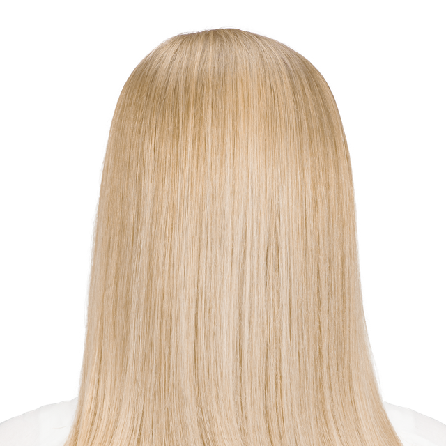 Amalfi Blonde - Light Natural blonde hair color with hints of gold.