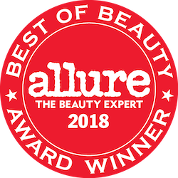 Best of Beauty Award Winner, Allure the beauty expert 2018