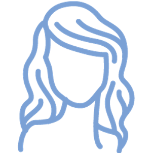 Women's Hair Icon