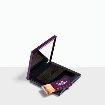 Legno - Black brush-on powder conceals roots quickly & easily