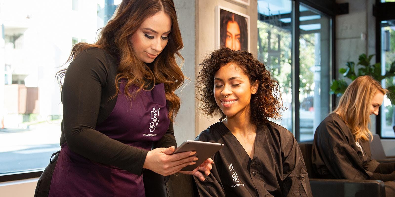 How to behave at a salon