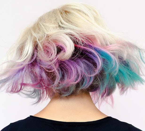 Would you try pastel hair color?