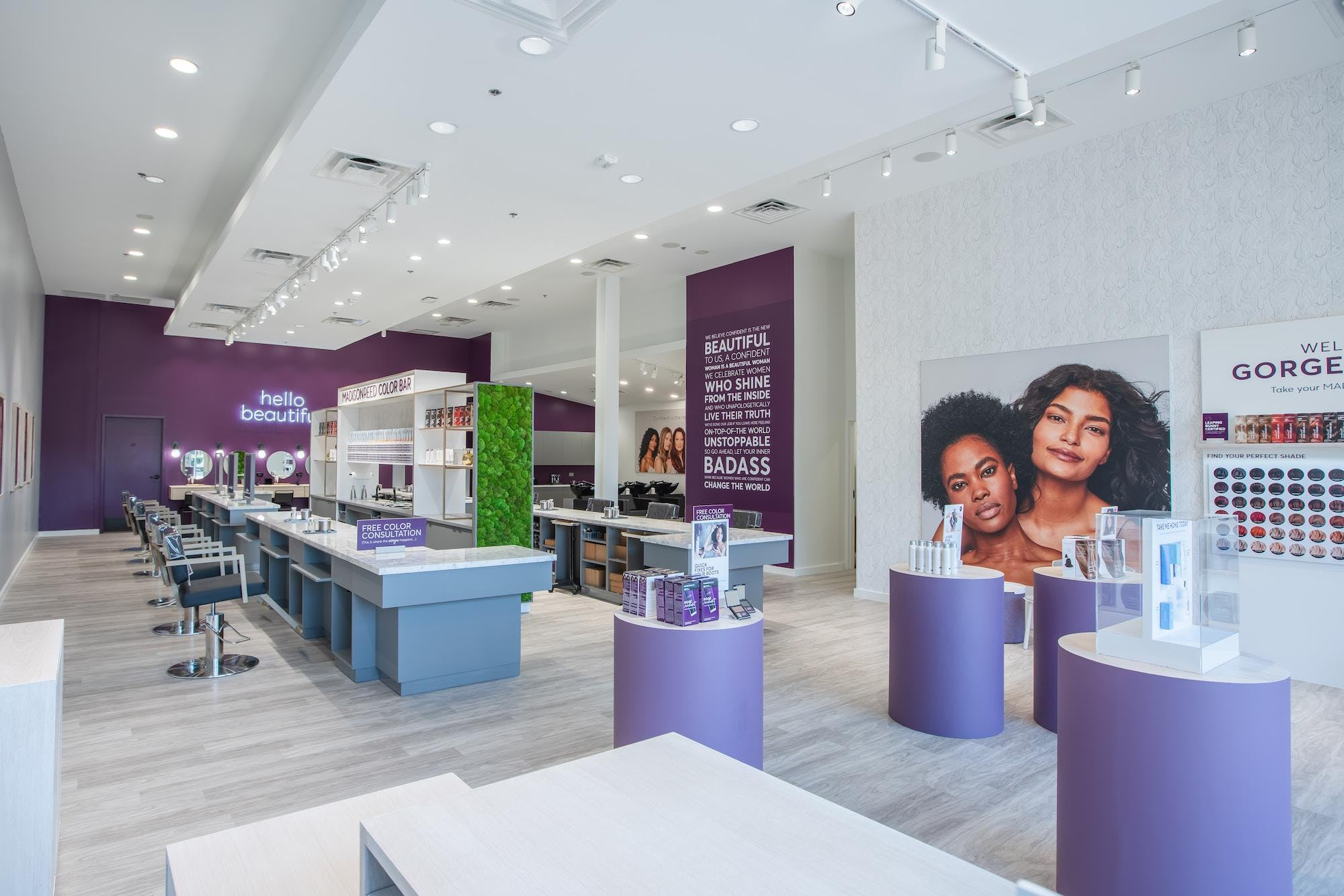 Lobby and Color Bar in Plano