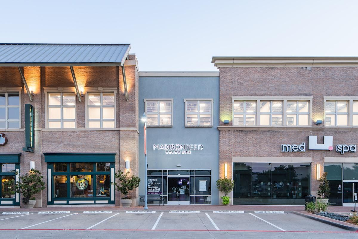 This is am image of the Plano Color Bar storefront.