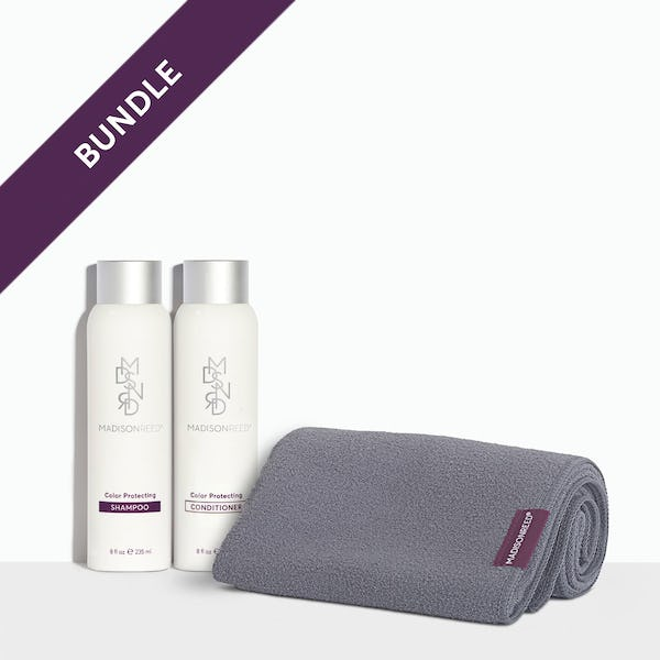 Shampoo, Conditioner and Towel Bundle