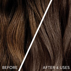 Caffe hair swatches