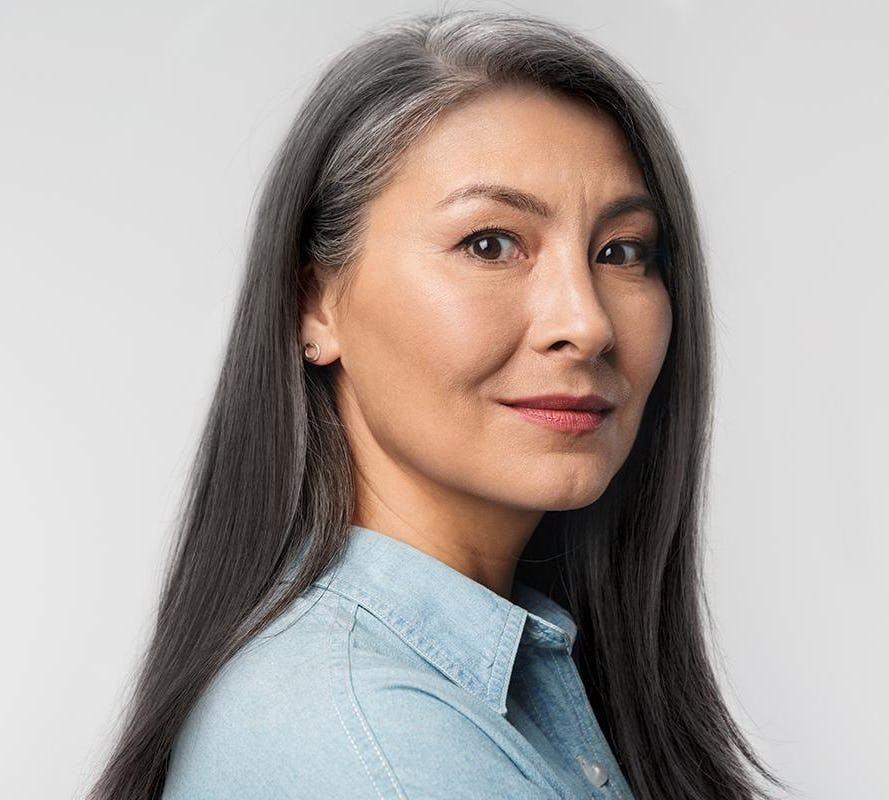 Hair Color That's Actually Designed to Cover Gray Hair