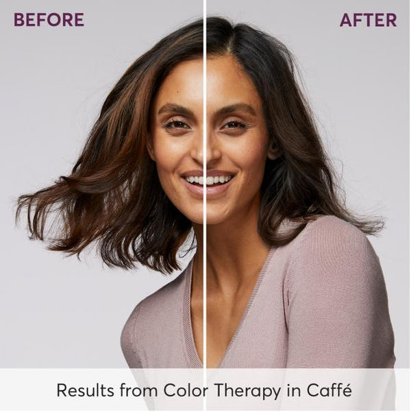 Before and After Results from Color Therapy in Caffe