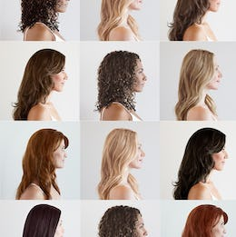 Hair color chart image